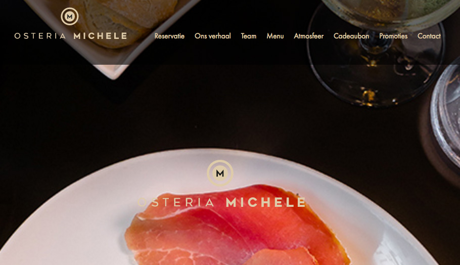 Osteria Michele | Responsive Drupal site